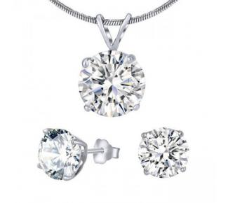 Sada stříbrných šperků