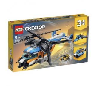 Lego helikoptéra