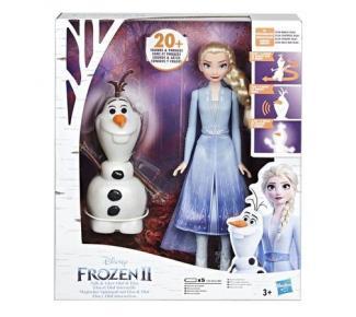 Elza a Olaf Frozen 2