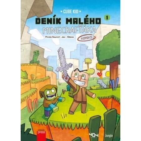 Deník malého minecrafťáka box + komiks
